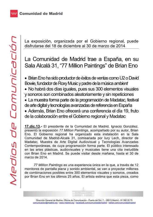 Ignacio gonzalez 17 diciembre 2013