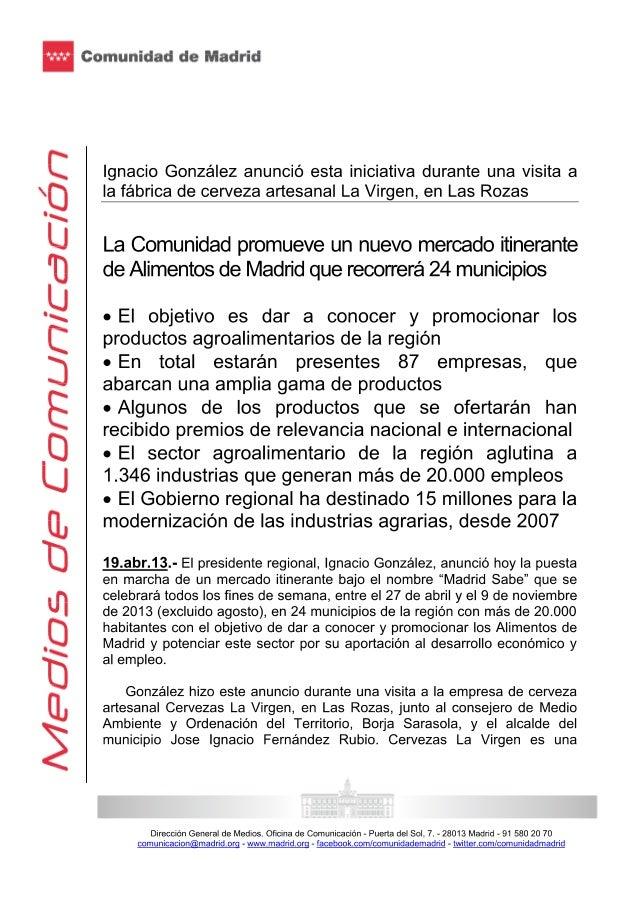 Ignacio gonzalez 19.04.2013