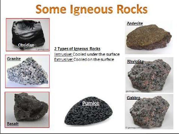 Types of igneous rocks images amp pictures becuo