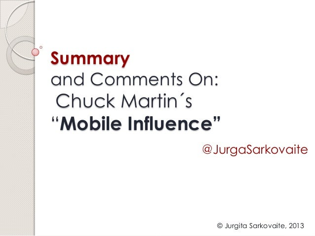 Mobile Influence - Ignite
