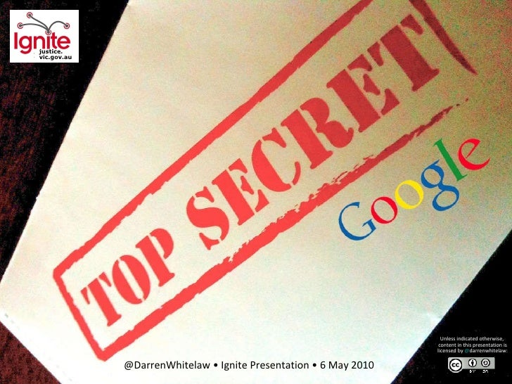 Best Google search tips (Ignite Presentation)