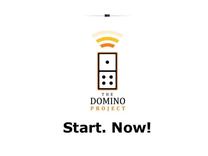 The Domino Project: Start. Now! by Paul Lancaster