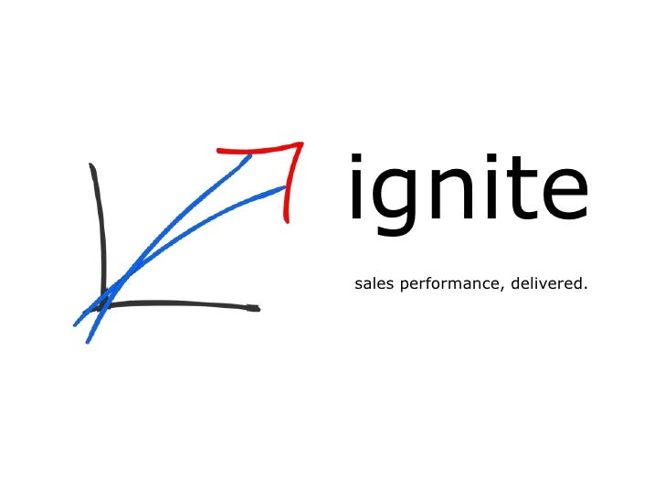 ignite sales performance, delivered.