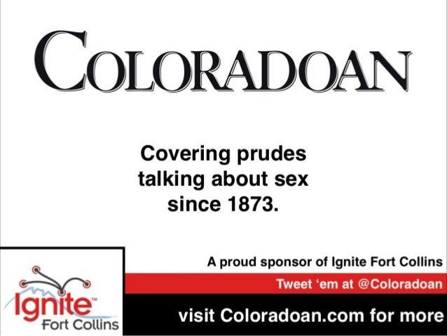 Ignite Fort Collins 13 - Sponsor Slides