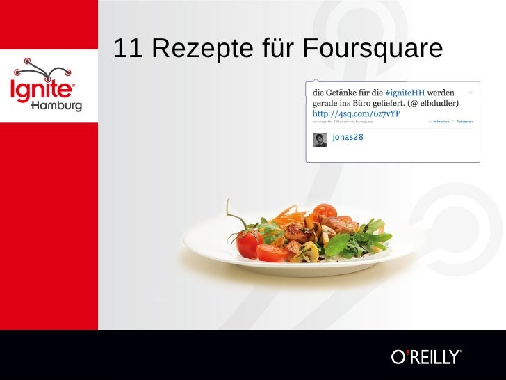 11 Rezepte für Foursquare