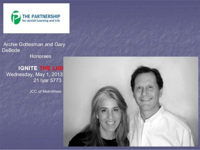 Ignite the Light 2013 Journal for The Partnership