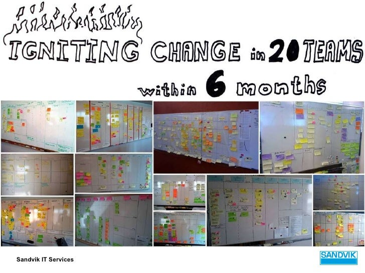 Igniting change in 20 teams within 6 months