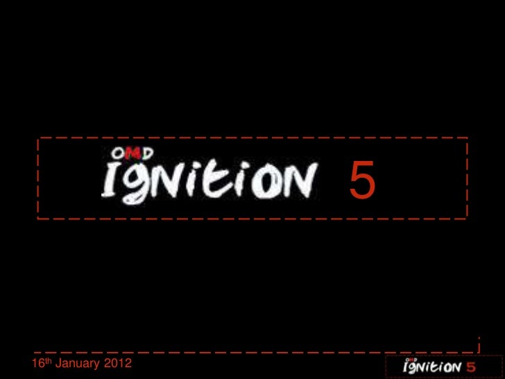 Ignition five 16.01.12