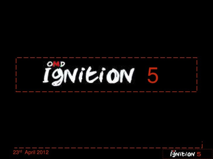 Ignition five 23.04.12