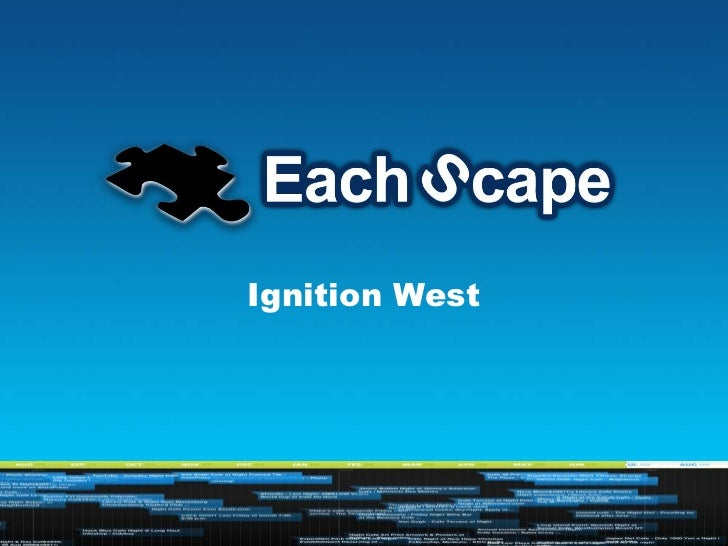 IGNITION, West, EachScape