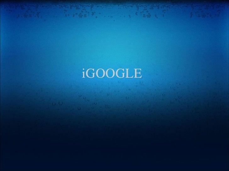 iGoogle