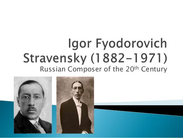 Russian Composer of the 20th Century