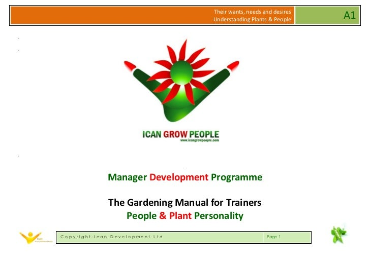 IGP Sample Trainers Notes - Managing Personalities