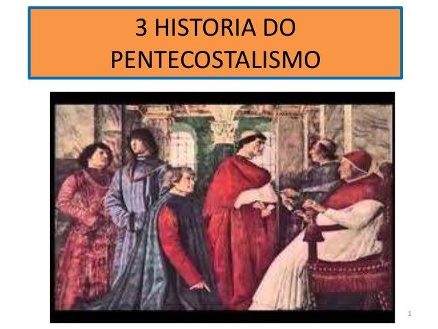 3 HISTORIA DO PENTECOSTALISMO O DECLINIO ESPIRITUAL DA IGREJA 1