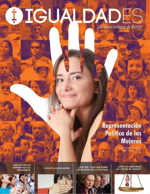 EL DEBATE ¿Son o no adecuadas las cuotas de género? EL ANÁLISIS Candidatas a la presidencia de la República: la distinción...