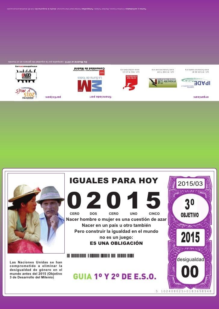 Textos y actividades: Cristina Vivares, Maribel Tellado. Fotografías: Solidaridad Internacional. diseño & maquetación: Ad-...