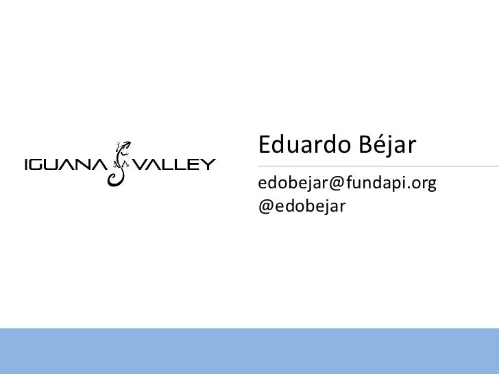Eduardo Béjaredobejar@fundapi.org@edobejar