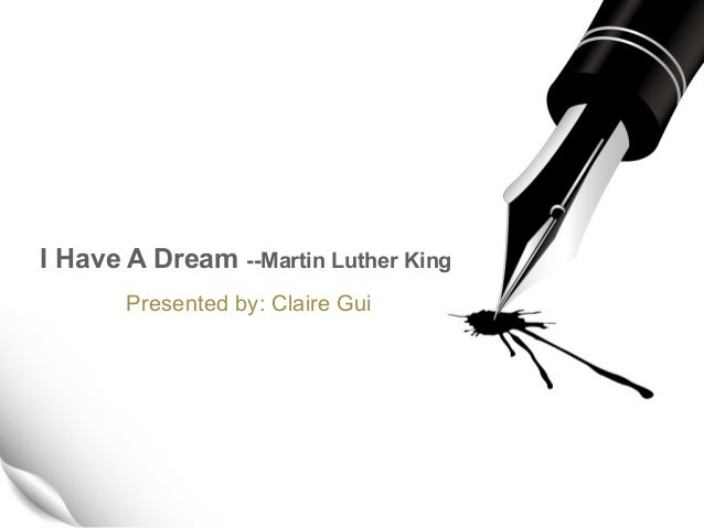 """i have a dream anaysis Stylistic analysis ml king """"i have a dream"""" the theme of a given text is the  equality and freedom of people, especially the black ones, who are defended by ."""