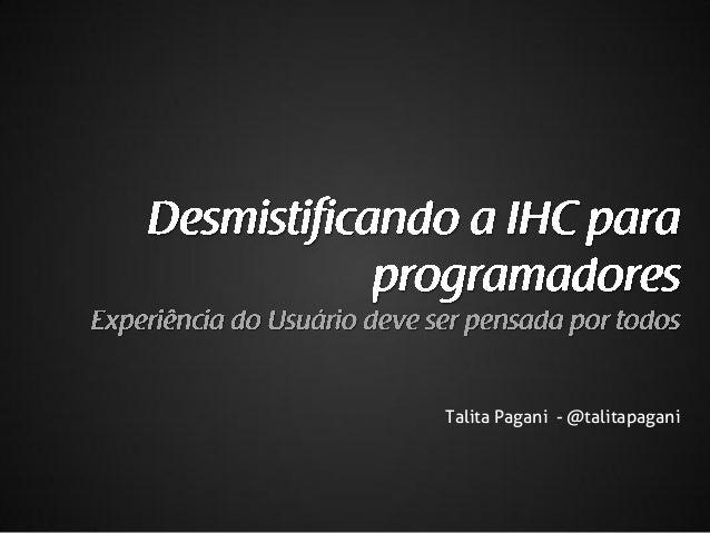 Talita Pagani - @talitapagani