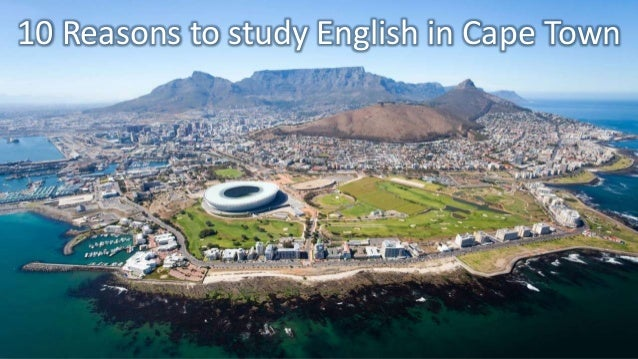10 Reasons why you should study English in Cape Town