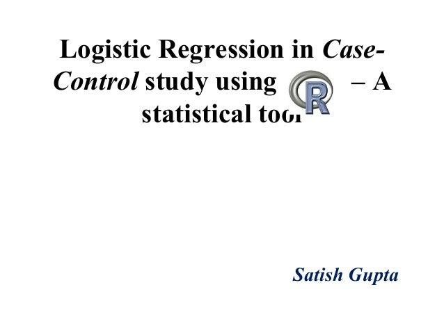 Logistic Regression in Case-Control Study