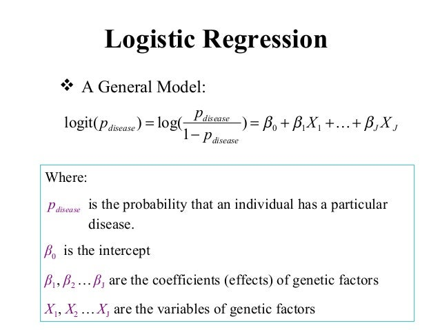 dissertation - logistic regression Logistic regression analysis to determine the this thesis is brought to you for free and open access by the department of mathematics and statistics at.