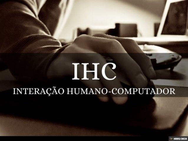 Jogos e IHC - Introdução