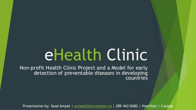 eHealth Clinic Project