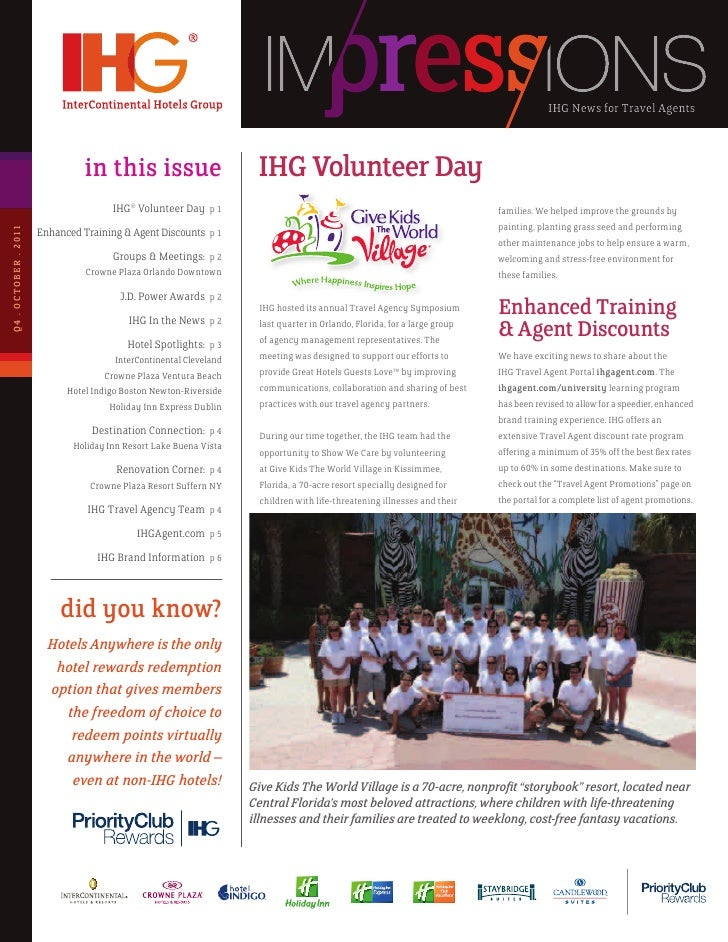 IHG News for Travel Agents
