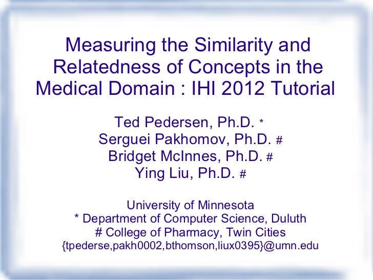 Ihi2012 semantic-similarity-tutorial-part1