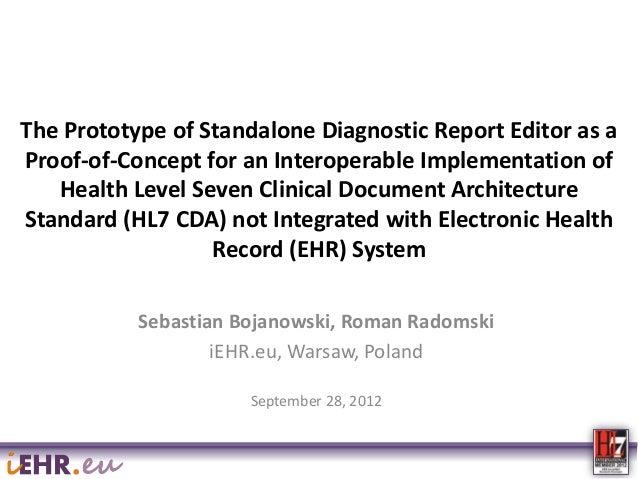 iEHR.eu IHIC 2012 Presentation