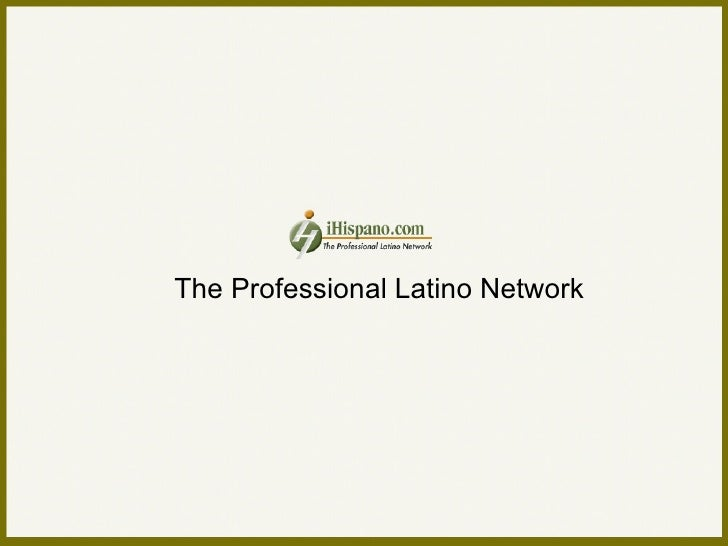 The Professional Latino Network
