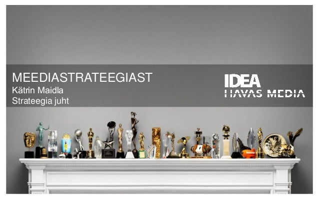 "Kätrin Maidla BeWise loeng ""Meediastrateegia"" (TTÜ-s 6.02.2014)"