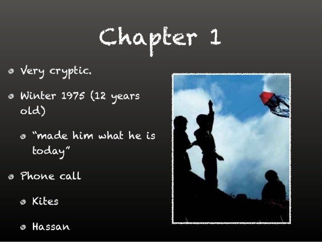 ch 23 kite runner There is a huge use of symbolism throughout both chapters 22 and 23 in chapter 23 amir's lip has great significance in chapter 23 amir's lip has great significance amir's lip is split 'in two, clean down the middle' represents the split in afghan society.