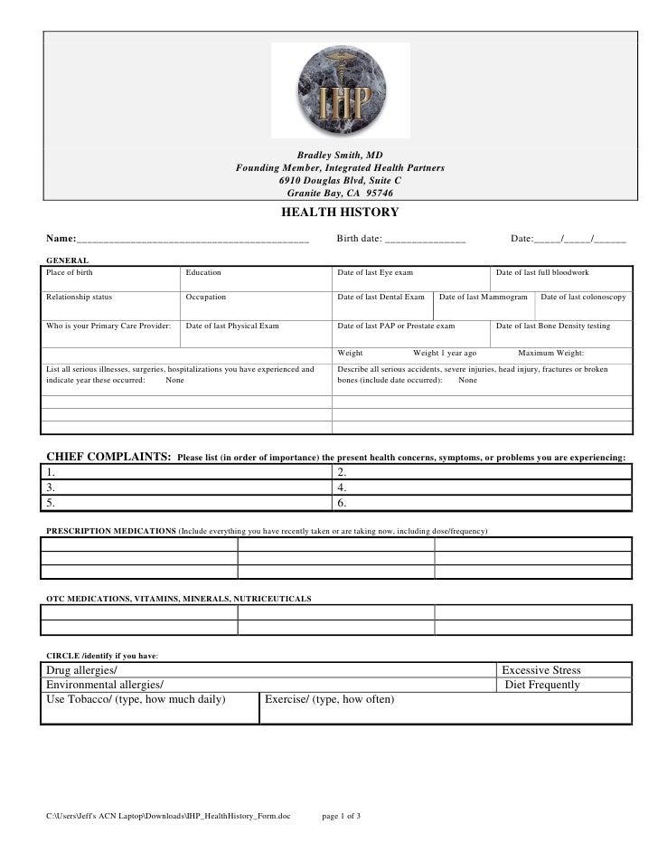 Ihp health history_form