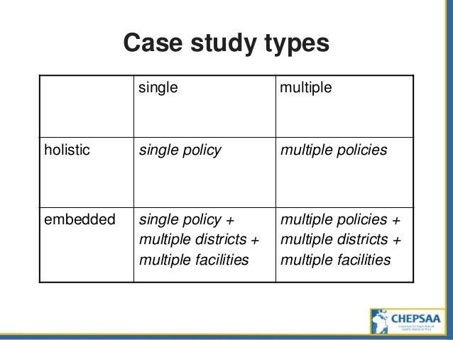Multiple case study