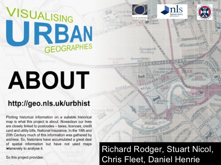 Digital History: Space, place and the City: A simple anti-GIS approach for historians