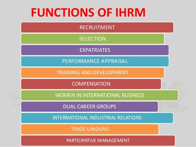 ihrm Whi is ihrm such an important issue for mne's  790 words   4 pages why is ihrm such an important issue for mne's international human resources management is the process of procuring, allocating, and effectively utilizing human resources in a multinational corporation.