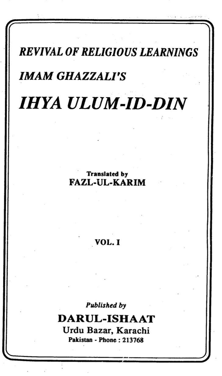 Ihya v1
