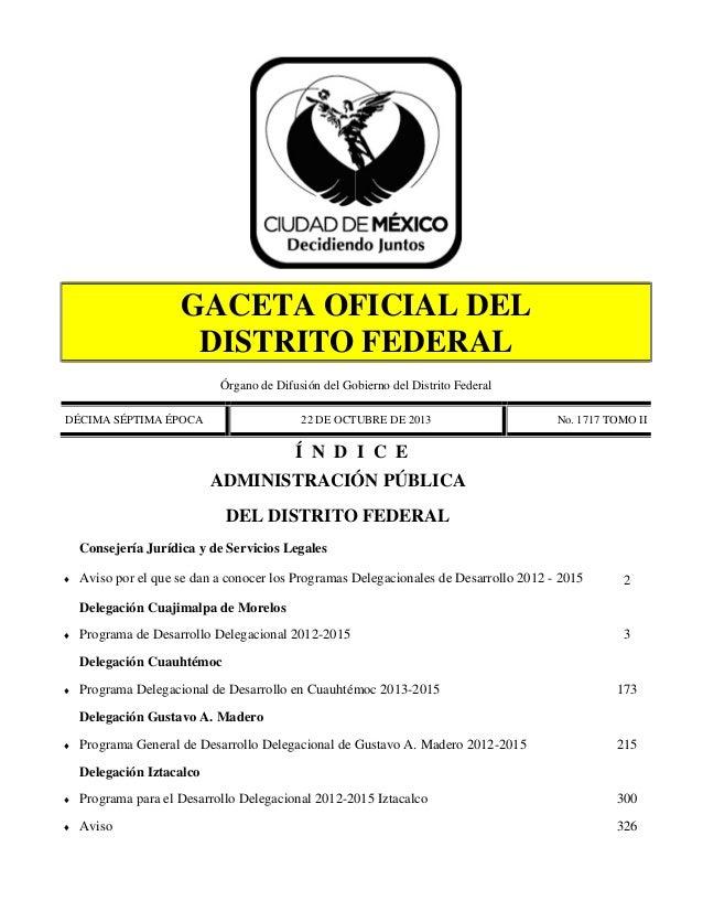 Programas Delegacionales de Desarrollo 02