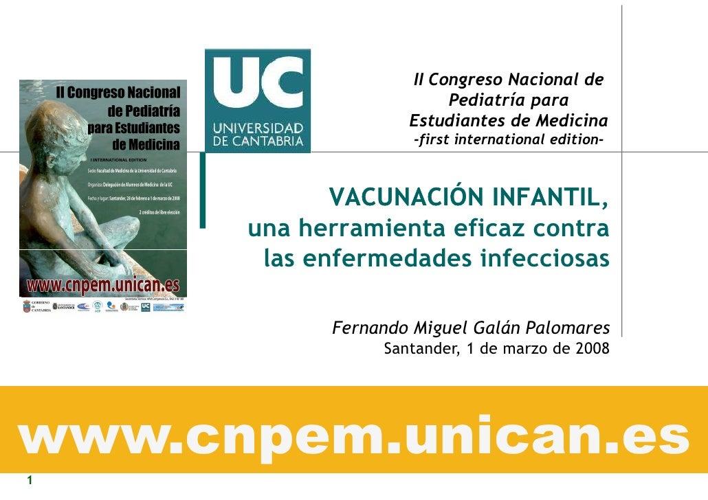 II Congreso Nacional de                          Pediatría para                     Estudiantes de Medicina               ...
