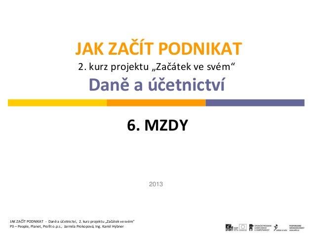 Mzdy 2013