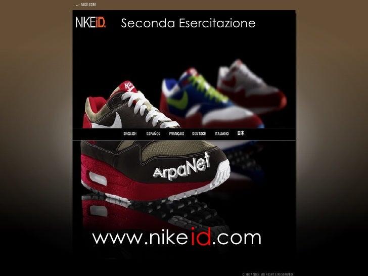 Seconda Esercitazione ArpaNet www.nike id .com