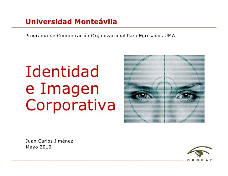 Identidad e Imagen Corporativa