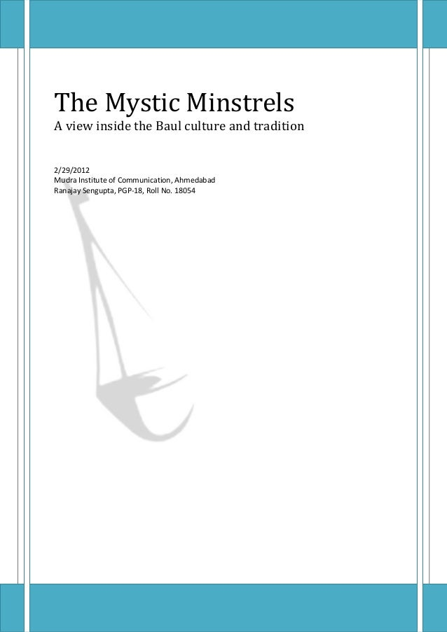The Mystic Minstrels
