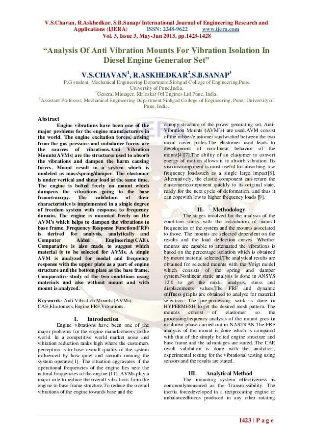V.S.Chavan, R.Askhedkar, S.B.Sanap/ International Journal of Engineering Research andApplications (IJERA) ISSN: 2248-9622 ...