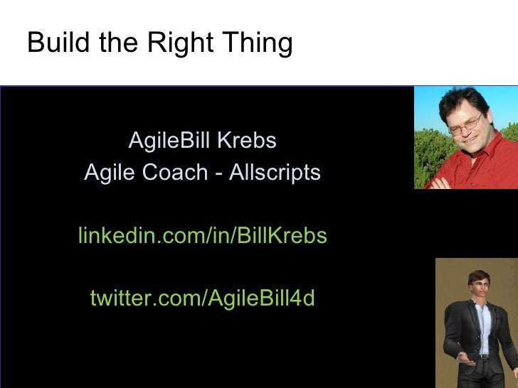 Build the Right Thing - IIBA