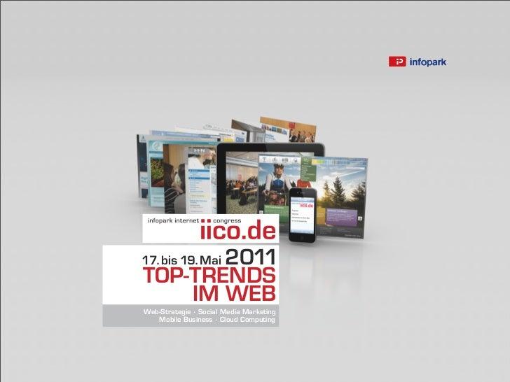 201117. bis 19. MaiTOP-TRENDS    IM WEBWeb-Strategie · Social Media Marketing   Mobile Business · Cloud Computing