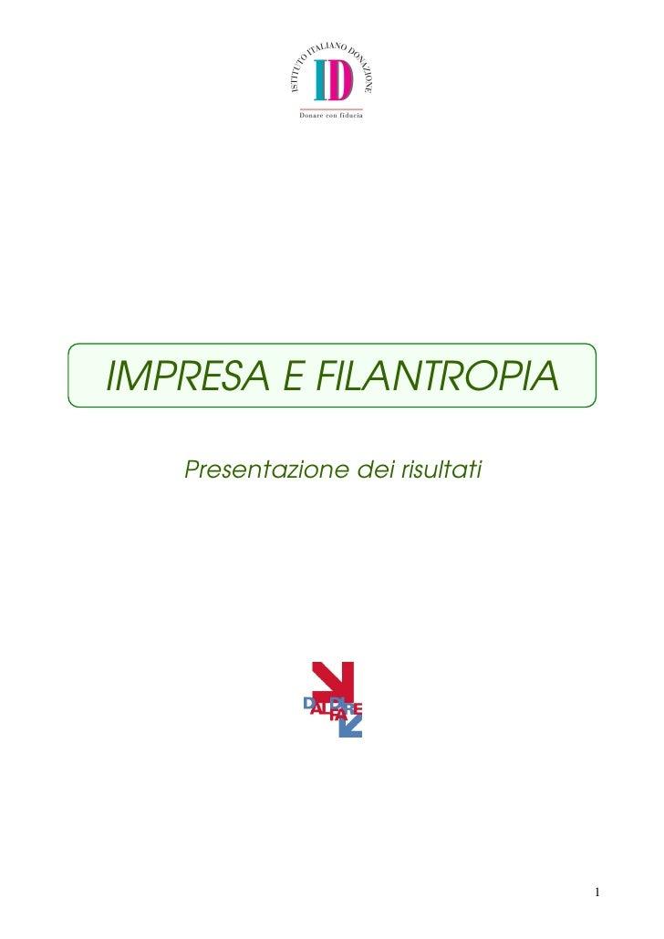 Impresa&filantropia_prima edizione
