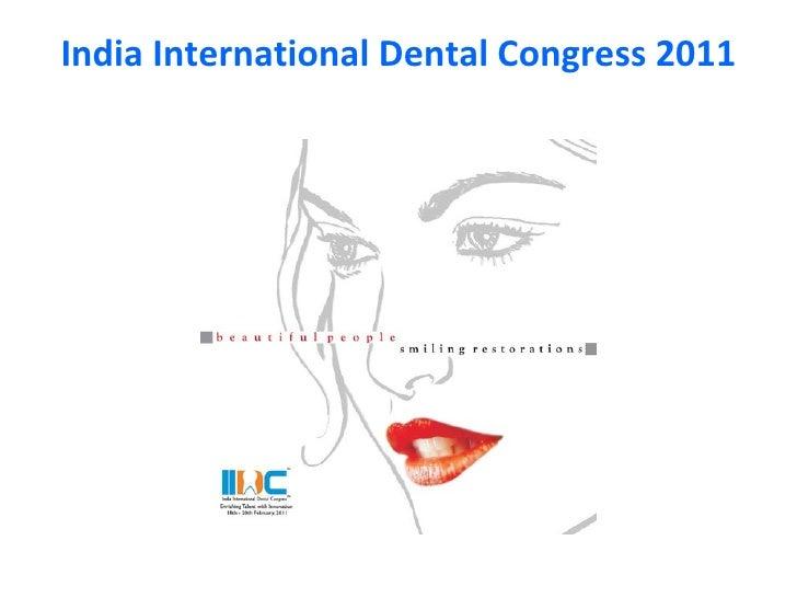 India International Dental Congress 2011
